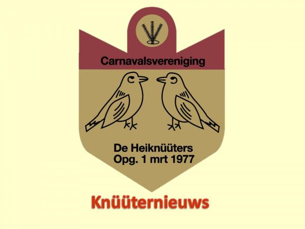 Knüüternieuws vanuit Knüütergat.
