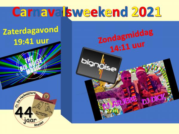 Carnavalsweekend 2021