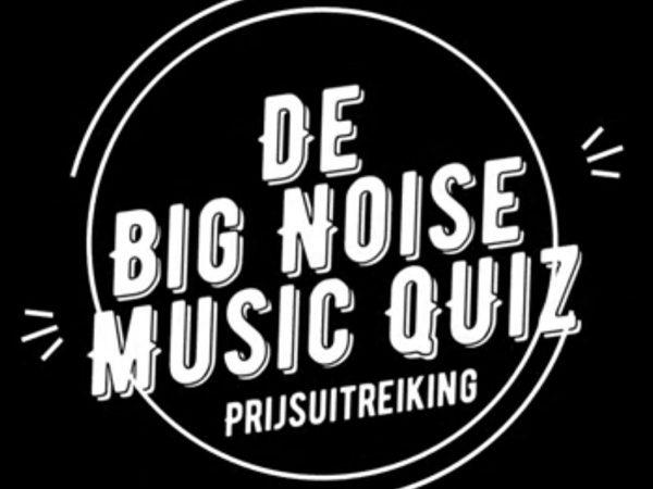 Prijsuitreiking Big Noise Muziek Quiz 2021