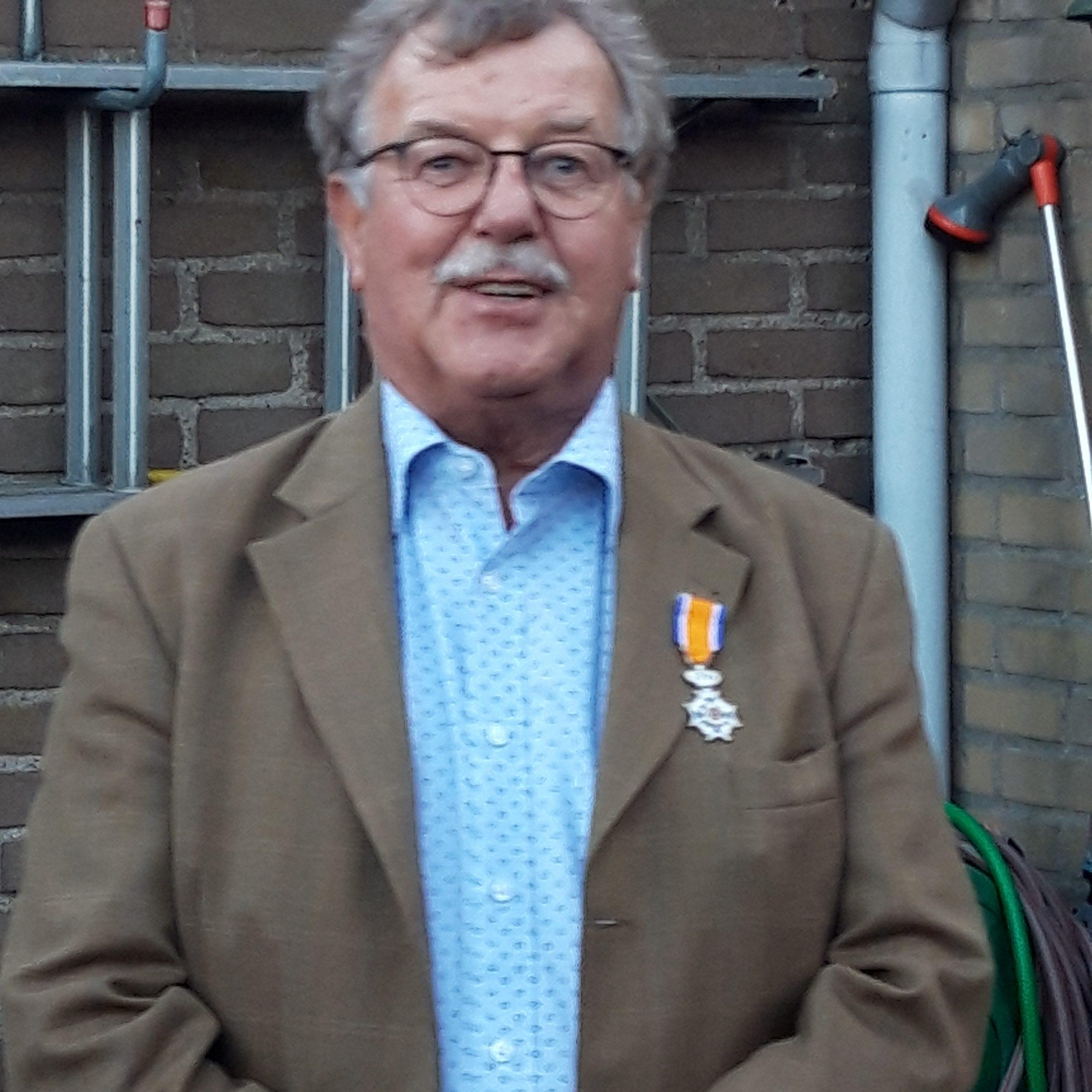 Anne Bruger lid in de Orde van Oranje Nassau.