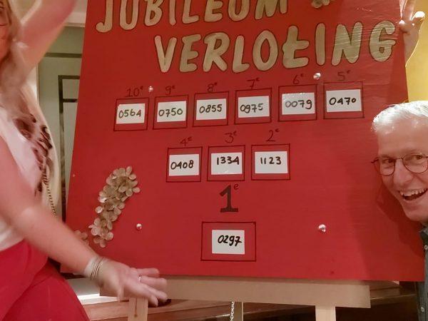 Uitslag Jubileum Verloting 2021